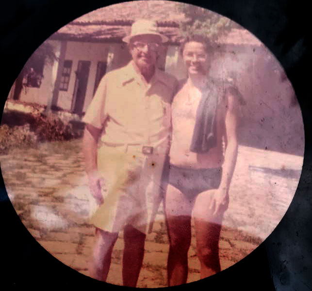 Roberto Crema e Carl Rogers - Arcozelo, RJ, 1976.