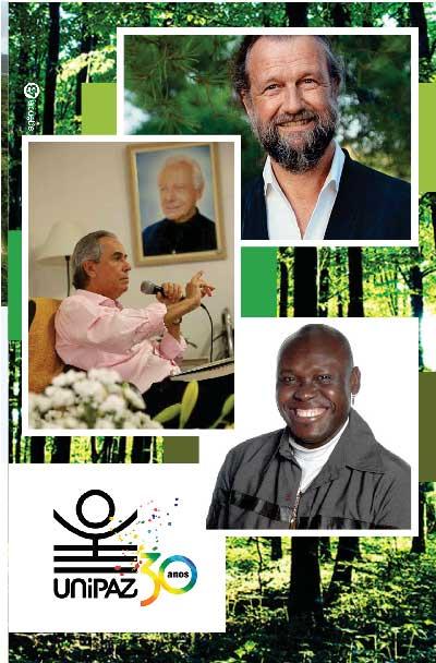Econtro com Jean-Yves Leloup, Roberto Crema e Rex Thomas Pousada dos Pireneus, 12 a 15 de outubro de 2017, Pirenópolis, Goiás