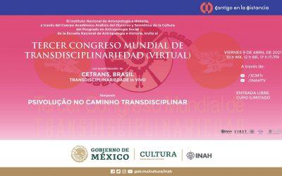 Terceiro Congresso Mundial de Transdisciplinaridade (Virtual) Participação de Roberto Crema